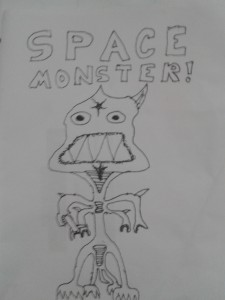 Space Monster - Sisco's shitty rendition